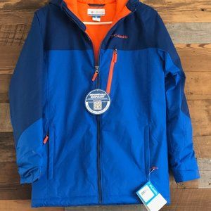 NWT: Boys Blue Columbia Double Grab Jacket